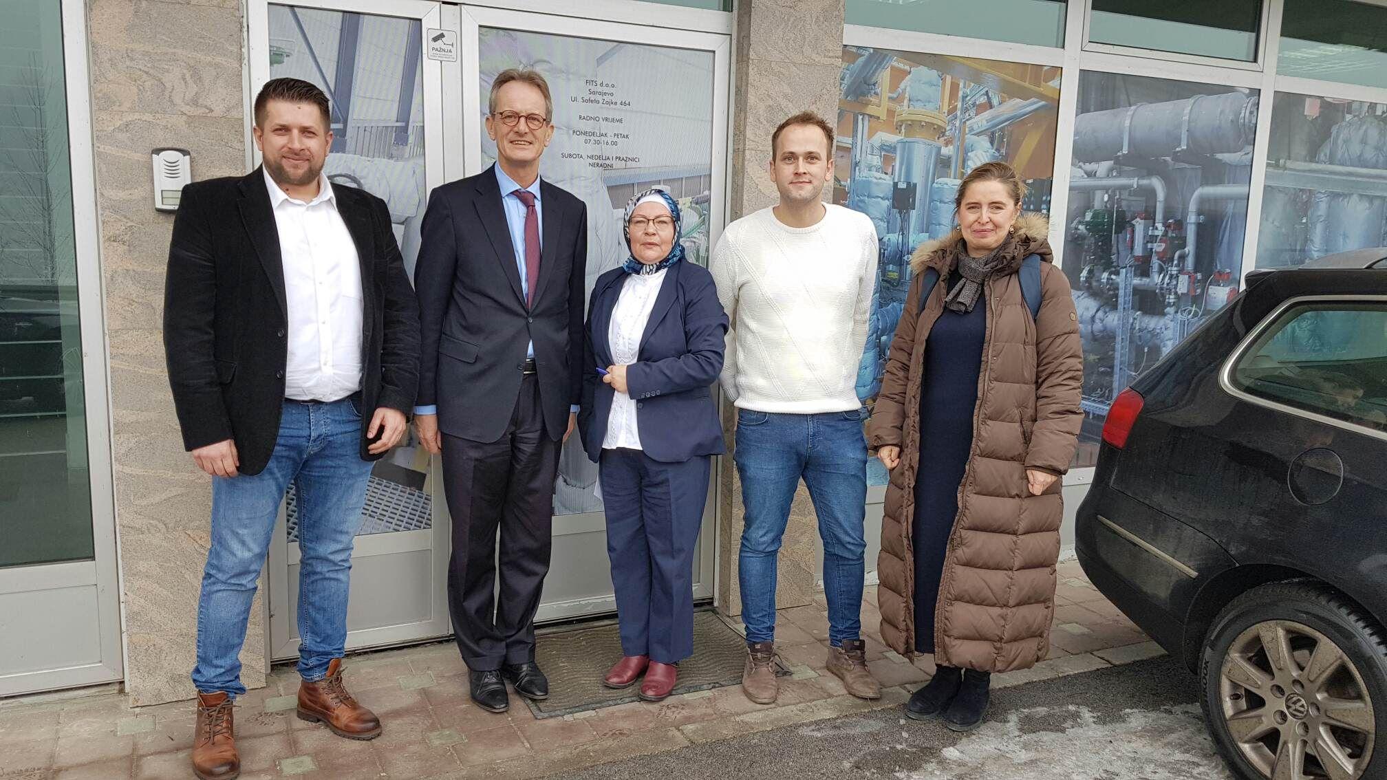 Visit of the Ambassador of the Kingdom of the Netherlands to Bosnia and Herzegovina